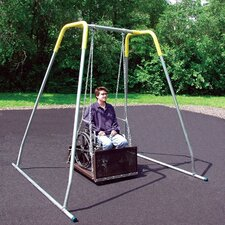 Permanent ADA Swing Seat with Frame