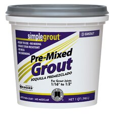 Pre-Mixed Grout (Set of 6)