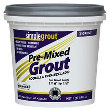 Premixed Grout 1 Quart (Set of 6)