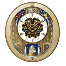 Victoria Melodies Motion Wall Clock