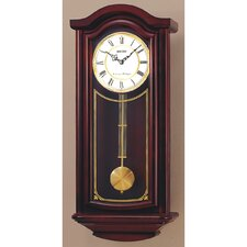 Solid Wood Pendulum Wall Clock