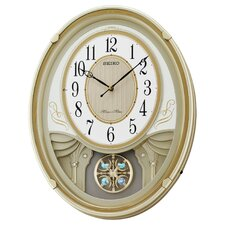 Melodies in Motion Lucienne Musical Wall Clock
