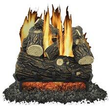 6 Piece Vented Gas Log Set