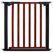 Designer Gateway Wood and Metal Pressure Baby Gate