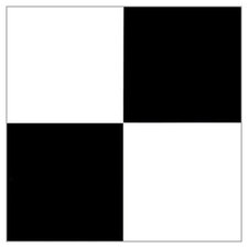 "12"" x 12"" Luxury Vinyl Tile in Black / White"