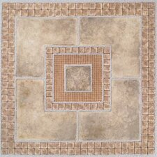 "Dynamix Vinyl Tile 12"" x 12"" Luxury Vinyl Tiles in Madison Stone/Marble"