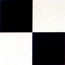 "Dynamix Vinyl Tile 20 Piece 12"" x 12"" Luxury Vinyl Tile in Black / White Set"