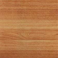 "Dynamix Vinyl Tile 12"" x 12"" Vinyl Tile in Machine Blonde Wood"