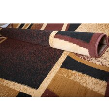 Brown/Maroon Area Rug