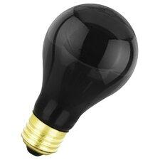 75W Black 130-Volt Incandescent Light Bulb