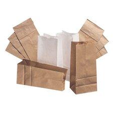 """20 8.25"""" Kraft Paper Bag in Brown"""