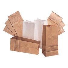 "2 4.31"" Kraft Paper Bag in Brown (Set of 2)"