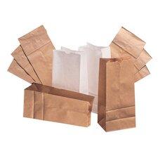 """4 5"""" Kraft Paper Bag in Brown"""