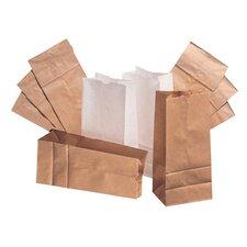 20 Squat Paper Bag in White