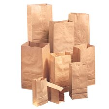 "6"" Kraft Paper Bag in Brown (Set of 2)"