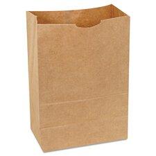 """8.25"""" Kraft Paper Bag in Brown"""