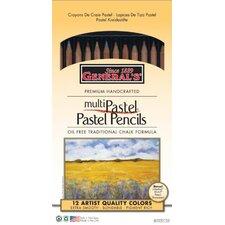 MultiPastel Chalk Pencil (Set of 12)