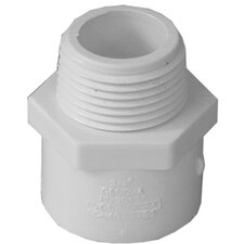 """10 Count 3/4"""" PVC Male Adapter"""
