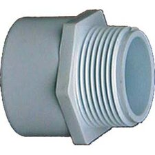 """1/2"""" x 3/4"""" PVC Sch. 40 Reducing Male Adapter (Set of 10)"""