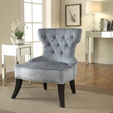 Colton Vintage Tufted Velvet Side Chair
