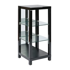 "Reflections 3 Shelf Curio 42"" Etagere Bookcase"
