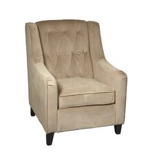 Curves Tufted Arm Chair