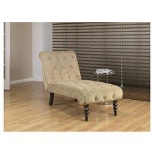 Curves Velvet Chaise Lounge