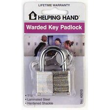 Laminated Steel Padlock (Set of 3)