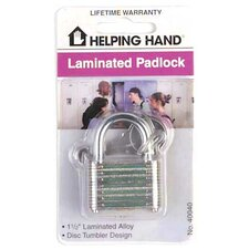 Laminated Alloy Padlock (Set of 3)