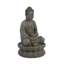 Buddha Fiberglass Serenity Fountain