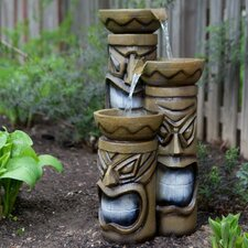 3 Tiered Tiki Fountain with LED Lights