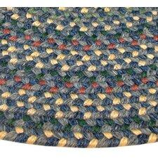 Pioneer Valley II Meadowland Blue Multi Elongated Octagon Outdoor Rug
