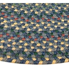 Pioneer Valley II Meadowland Blue Multi-colored Runner Rug