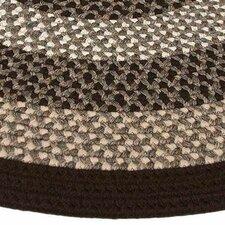 Green Mountain Fudge Brown Stripes AreaRug