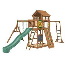 Cypress Wooden Swing Set