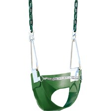 Belted Toddler Swing with Chain