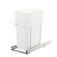 8.75-Gal. in Cabinet Pull-out Bottom Mount Trash Can