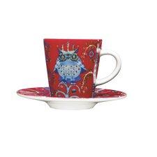 Taika Espresso Cup and Saucer Set