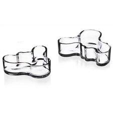Alvar Aalto Clear Mini Bowl (Set of 2)