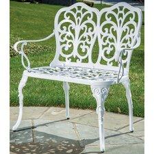Celine Cast Aluminum Garden Bench