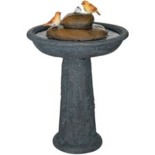 Bird Bath Outdoor Fountain
