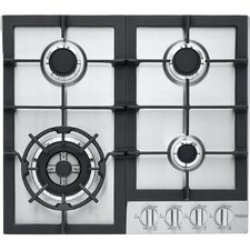 "22.81"" Gas Cooktop with 4 Burners"