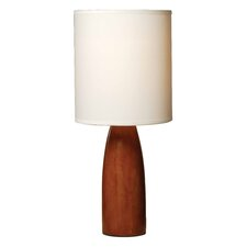 "Normande 16.5"" H Table Lamp with Drum Shade"