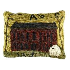 Primitive Brick House Lumbar Pillow