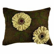 Primitive Sunflowers Lumbar Pillow