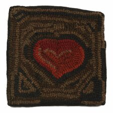Primitive Handcrafted Throw Pillow