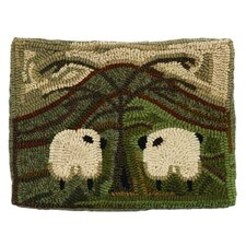 Primitive Friends Handcrafted Lumbar Pillow