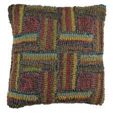 Primitive Match Stic Handcrafted Throw Pillow