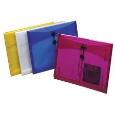 "1"" Assorted Colors Side Load Poly String Envelope"