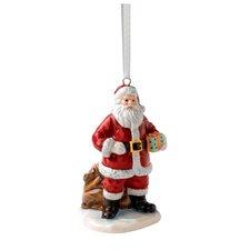 Annual Santa with Sack Ornament